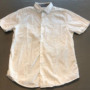 Men's Slim Fit Short Sleeves Button Up